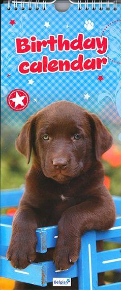 80-165 Verjaardagskalender Hond