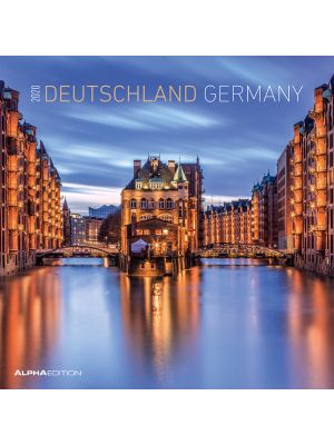 Beeldkalender - Deutschland/Germany 2020 - 30 x 30 cm - 80-029