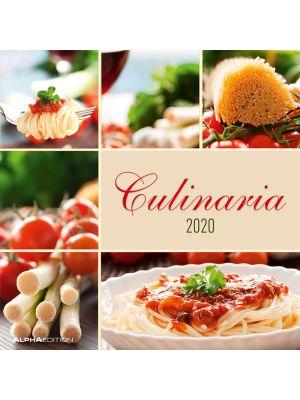 Beeldkalender - Culinaria 2020 - 30 x 30 cm - 80-038