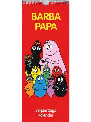 80-150 Verjaardagskalender Barbapapa rood